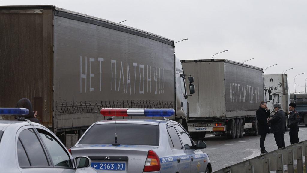 Зюганов о протестах дальнобойщиков